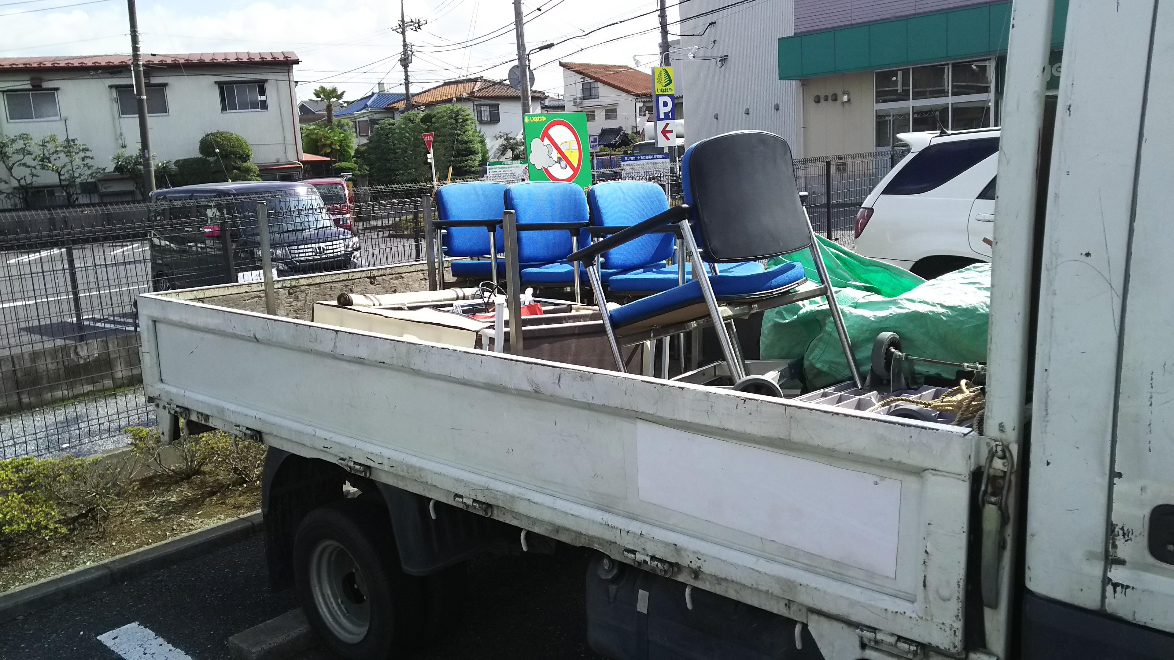 椅子の廃棄処分