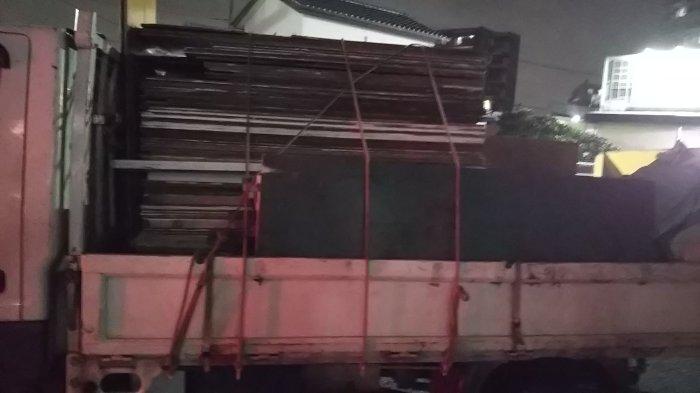 ベニヤ坂 産業廃棄物